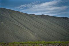 Crater in iceland Royalty Free Stock Image