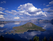 Crater Lake 1. Wizard Island in Oregon's Crater Lake National Park