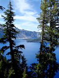 Crater Lake. Photo of the Crater Lake National Park, Oregon, USA royalty free stock image