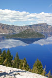 Crater Lake. A scenic view of Crater Lake, Oregon Stock Image