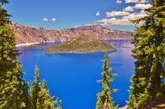 Free Crater Lake Royalty Free Stock Photo - 77413555