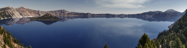 Crater Lake Banner Stock Photos