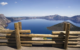 Crater Lake Caldera National Park Oregon USA Royalty Free Stock Images