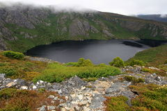 Crater Lake, Cradle Mountain-Lake St Clair National Park, Tasmania, Australia Royalty Free Stock Image
