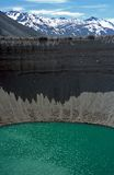 Crater Lake,Mendoza,Argentina. Crater Lake near las lenas,Mendoza,Argentina Stock Photography