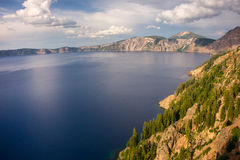 Crater Lake N. P. in Oregon Royalty Free Stock Images