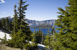 Crater Lake National Park Stock Photography