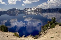 Crater Lake National Park Royalty Free Stock Images