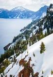 Crater Lake National Park Royalty Free Stock Photos