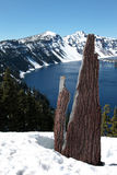Crater Lake national park, Oregon. Stock Image