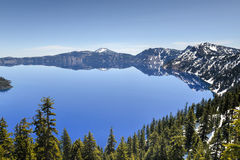 Crater Lake National Park, Oregon Stock Images