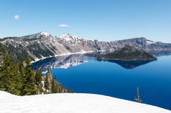 Crater Lake National Park, Oregon Stock Image