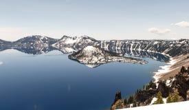 Crater Lake National Park, Oregon Royalty Free Stock Photos