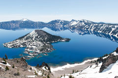 Crater Lake National Park, Oregon Stock Photography