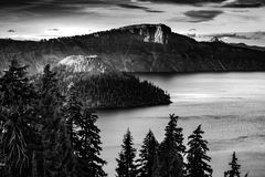 Crater Lake National Park Oregon Royalty Free Stock Images