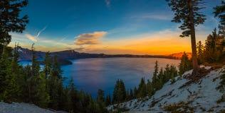 Crater Lake National Park Oregon Stock Photo