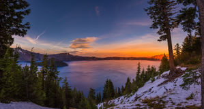 Crater Lake National Park Oregon Stock Image