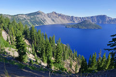 Crater Lake National Park, Oregon Royalty Free Stock Images