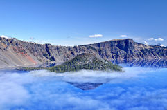 Crater Lake Stock Image