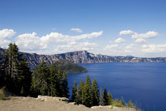 Crater Lake National Park, Oregon, WA Royalty Free Stock Photos