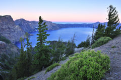 Crater lake national park at twilight Stock Photography