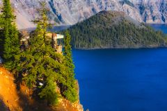 Crater Lake National Park Royalty Free Stock Photos