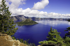 Crater Lake, Oregon Royalty Free Stock Photos