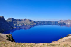 Crater Lake, Oregon. Crater Lake Oregon on a beautiful Sunny day Stock Image
