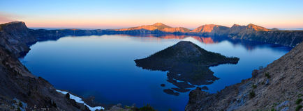 Crater Lake, Oregon Stock Photo