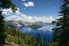 Crater Lake, Oregon Royalty Free Stock Image