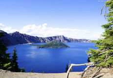 Crater Lake of Oregon State, Royalty Free Stock Images