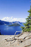 Crater Lake of Oregon State, Royalty Free Stock Image