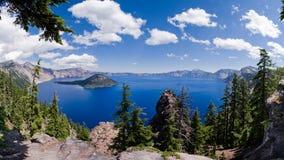Crater Lake Oregon. Crater Lake in US State Oregon Royalty Free Stock Photos
