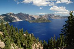 Crater Lake , Oregon, USA Stock Image