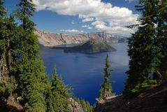 Crater Lake , Oregon, USA Royalty Free Stock Photography