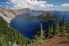 Crater Lake , Oregon, USA Stock Images