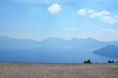 Crater lake Stock Photography
