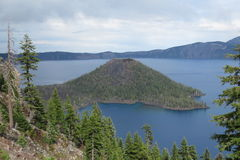 Crater Lake, Oregon, USA Stock Photo