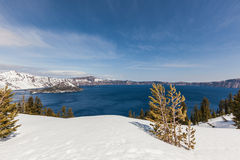 Crater lake Oregon Royalty Free Stock Images