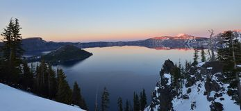 Crater Lake, Oregon Royalty Free Stock Images