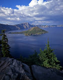 Crater Lake2 Royalty Free Stock Photography