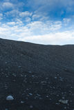 Crater landscape in Iceland volanic area Royalty Free Stock Images