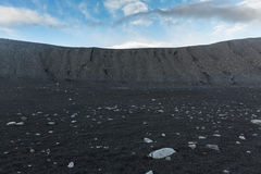 Crater landscape in Iceland volanic area Stock Photo