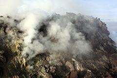 Crater Merapi Stock Photo