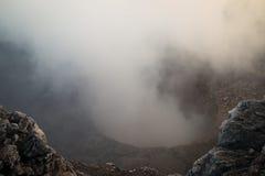 Crater of the Mombacho Volcano near Granada, Nicaragua Stock Photography