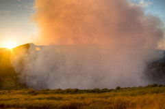 Crater of the Mombacho Volcano near Granada, Nicaragua Royalty Free Stock Image
