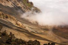 Crater of Mt Haleakala royalty free stock image