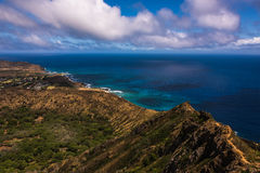 Crater in Oahu Royalty Free Stock Photos