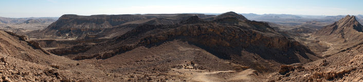 Crater Ramon Royalty Free Stock Images