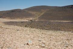 Crater Ramon in Negev desert. Stock Photography